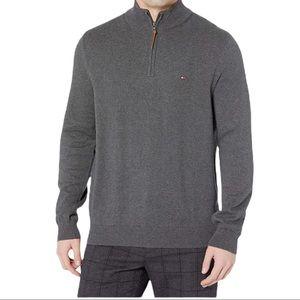 Tommy Hilfiger Men's 3/4 Zip Up Sweater Size XL